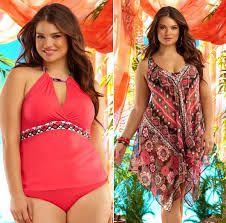 Resultado de imagem para plus size moda praia