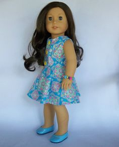 Hey, I found this really awesome Etsy listing at https://www.etsy.com/listing/502718385/18-in-doll-clothes-turquoise-pink-citrus