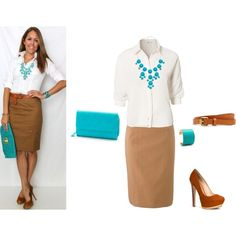 """""""Blue and Brown"""" by annabeth1223 on Polyvore"""