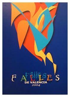 Cartel Fallas Valencia año 2001