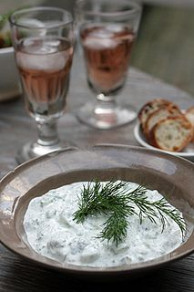 The best Tzatziki I've made/tasted. I add lemon to it, but other than that, delicious.