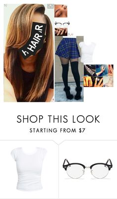 """""""Untitled #4303"""" by bby-16-gul ❤ liked on Polyvore featuring Ray-Ban and Allurez"""