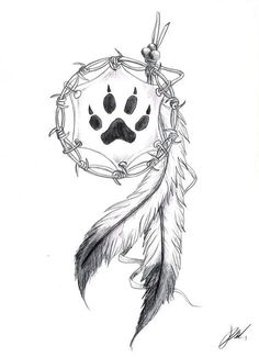 45 Creative Tattoo Drawings For Your Inspiration; thick tattoo… 45 Creative Tattoo Drawings For Your Inspiration; Wolf Tattoos, Cute Tattoos, Flower Tattoos, Body Art Tattoos, Print Tattoos, Small Tattoos, Tatoos, Wolf Print Tattoo, Bear Paw Tattoos