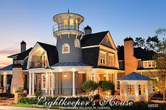 Lightkeeper's House Plan | House Plans by Garrell Associates, Inc
