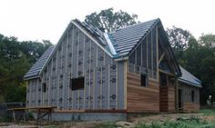 Maison construite en ossature bois dans l'Eure 27