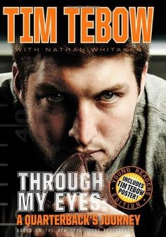 Through My Eyes: A Quarterback's Journey, Young Reader's Edition by Tim Tebow, http://www.amazon.com/dp/0310723450/ref=cm_sw_r_pi_dp_teYzqb1P6VXGF