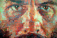 style for the urban beardsman Chuck Close, Urban, Painting, Art, Art Background, Painting Art, Kunst, Paintings, Performing Arts
