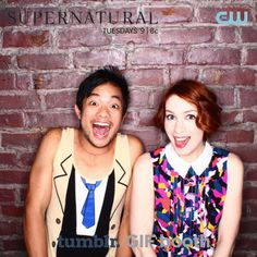 Osric and Felicia being adorable at the 200th Episode Fan Party!