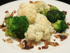 Ultimate Daniel Fast: Pan roasted Broccoli and Cauliflower - Healthy eating - Daniel Fast Food List, 21 Day Daniel Fast, The Daniel Plan, Daniel Fast Recipes, Roast Broccoli And Cauliflower, Fried Broccoli, Fast Healthy Meals, Super Healthy Recipes, Fast Foods