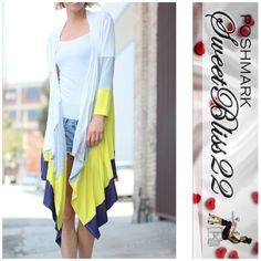 One Day Sale  Level Cardigan Lime Stylish,sassy, and a closet requirement! Comes in S,M,L Don't miss out! Jackets & Coats