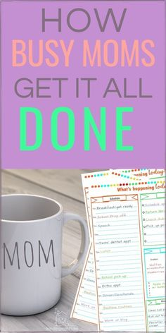 Organize your daily routines with the Simple Schedule Workbook. The printable planner worksheets will take you through---step by step---and help you create a daily schedule that will keep you organized and productive! Printable Planner, Printables, Organized Mom, How To Stop Procrastinating, Time Management Tips, Parenting Advice, Mom Advice, Working Moms, Cleaning Hacks
