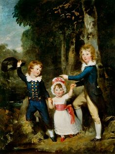 Lawrence, Sir Thomas : Portrait of the Children o...