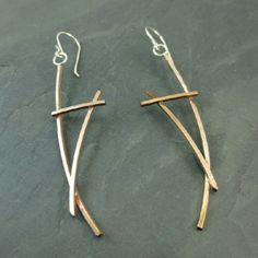 Hope Biba- Geo Earrings from Oxidize Metal Art Gallery for $72 on Square Market