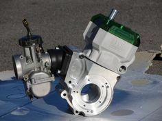 Kit cylindre MXS GP 90cc sur Carters CNC de Cyclo
