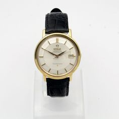 Omega Constellation PiePan 18K gold via MarCels. Click on the image to see more!
