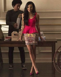 Outfit worn by Santana Lopez in Glee. Shop the Screen with Spylight!