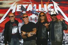 metallica band 2013