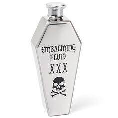 Coffin Embalming Fluid Flask