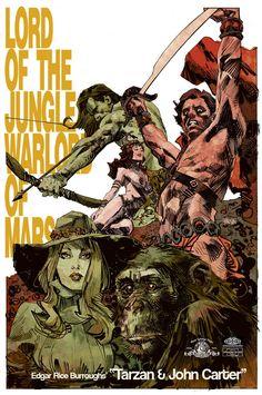 JOHN CARTER THE END #1 COVER J 50 COPY TAN B/&W SKETCH INCV VARIANT COMIC BOOK