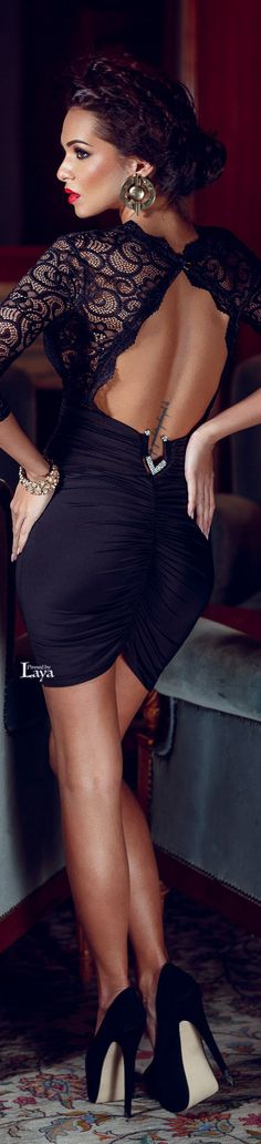 Evening ✿Black✿ Elegant Dress / Only Me ✌✔ xoxo