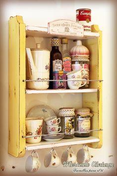 Bildresultat för te hyllor skåp