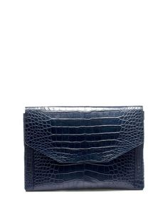 Lanvin sartorial envelope in alligator. So chic. Fab Bag, Lanvin, Get Dressed, Fashion Accessories, Menswear, Envelope, My Style, Bags, Le Mans