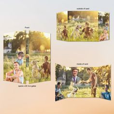 Gatefold Memorial Cards