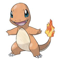 Charmander #004 Type: Fire Evolutions: Charmeleon #005, Charizard #006