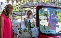 Fancy arriving to your wedding ceremony in a Tuk Tuk?  http://www.yourmadeirawedding.com/directory/tuk-madeira-city-tours