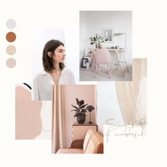 What a beautiful day here in the UK. This mood board will hopefully get you into a summer mood! Logo Design, Web Design, Layout Design, Website Design Inspiration, Layout Inspiration, Moodboard Inspiration, Logo Branding, Mood Board Interior, Lookbook Design