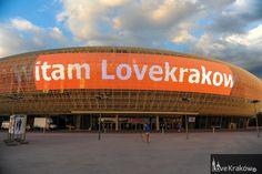 LoveKrakow.pl @ Ekran LED na Kraków Arena