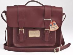 Dr Martens Cherry red leather bag-I WANT IT
