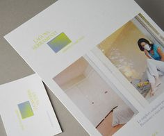 #Shiro #Echo #businesscard and #leaflet Laguna Serramenti / Design: Tommaso Gentile Studio www.thegentleman.it - Find more about #Shiro http://www.favini.com/gs/en/fine-papers/shiro/features-applications/