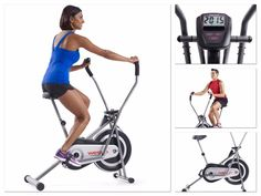 Bicycle Trainer Cycling Fitness Training Exercise Bike Gym Weslo Cross Upright  #Unbranded