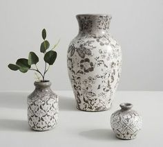 Shop Pottery Barn for expertly crafted decorative vases and vase fillers. Find glass, ceramic and metal vases in classic styles and colors to accent your home. Pottery Barn Halloween, Cheap Vases, Old Vases, Clear Glass Vases, Large Vases, Pottery Barn Inspired, Vase Fillers, How To Make Diy, Ceramic Vase