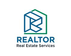 REALTOR Logo design - professional and impactful logo vector, easy to remember and effective to use in : Real estate, realtor, broker, apartaments, building , construction, home repair, home services, properties, investment, realty..ecc Price $199.00