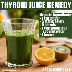Natural Cures Not Medicine: Thyroid Juice Remedy