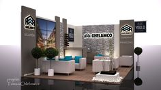 exhibitions stand - Ghelamco '2013