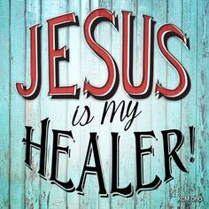 Jesus is a healer for all who believe, have faith and accept Him as your Lord and Savior. Prayer Quotes, Bible Verses Quotes, Jesus Quotes, Spiritual Quotes, Faith Quotes, Wisdom Quotes, Healing Scriptures, Healing Words, Jesus Heals
