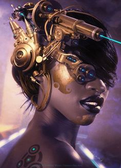 Bladerunner By Fantasio In Showcase Of Incredible Steampunk Artworks
