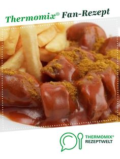 "Currywurst sauce ""Like at the stall"" by riseofeternity. A Thermomix ®️️ Re . - Currywurst sauce ""Like at the stall"" by riseofeternity. A Thermomix ®️️ recipe from the Sauces - Mini Beef Wellington, Beef Wellington Recipe, Wellington Food, Barbecue Sauce Recipes, Grilling Recipes, Beef Recipes, Healthy Recipes, Bratwurst, Food And Drink"