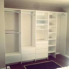 New closet organizer!