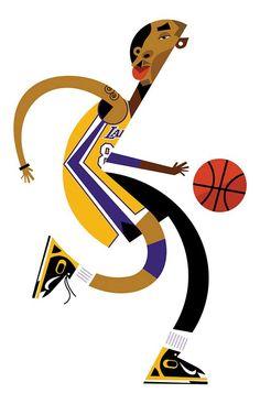 Kobe Bryant by Pablo Lobato