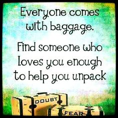 #Quote #Repost Everyone has #baggage #Iloveit #expression #true #hello #goodevening • athomemommy on Streamzoo