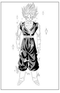 Vegito Super Saiyan God by maddness1001