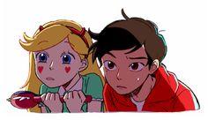 Star vs the Forces of Evil Anime version Disney Movies, Disney Pixar, Disney Characters, Fictional Characters, Gravity Falls, Cartoon Junkie, Starco Comic, Star Y Marco, Pix Art