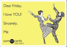 Como foi a semana de vocês? Animados para o fim de semana? Nós estamos! #Friday #sexta