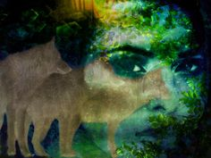 Sisters Under The Skin  Fauna Lady of the Wild by TheBrightPearl.