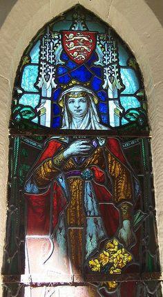 "Princes Joan, wife of Llywelyn, illegitimate daughter of King John -- Wales, Trefriw -- photo by ""jmc4 - Church Explorer"", 2013"