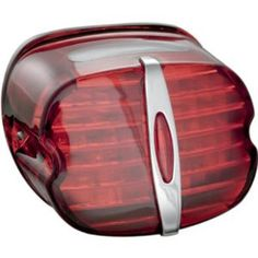 Kuryakyn 5420 Red Deluxe Panacea Taillight with License Light * See this great product by click affiliate link Amazon.com